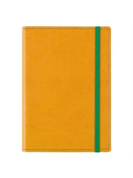 Блокнот Vivid Colors в мягкой обложке, желтый