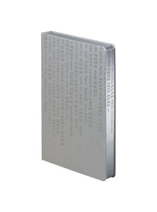 Ежедневник «Исторический», полудатированный, серебро
