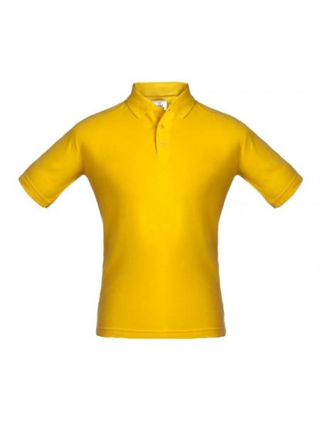 Рубашка поло Unit Virma, желтая
