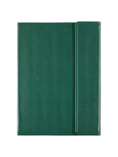 Ежедневник Left , недатированный, зеленый