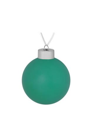 Елочный шар Color, 8 см, зеленый