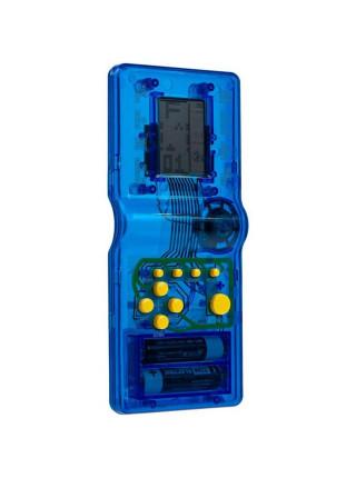 Игровая консоль Tetramino Transparent, синяя