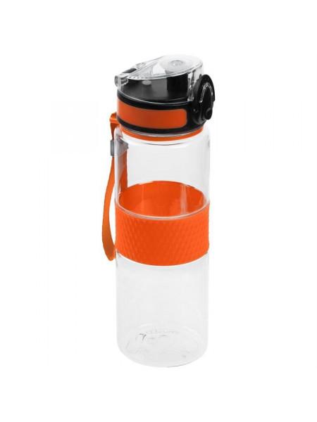 Бутылка для воды Fata Morgana, прозрачная с оранжевым