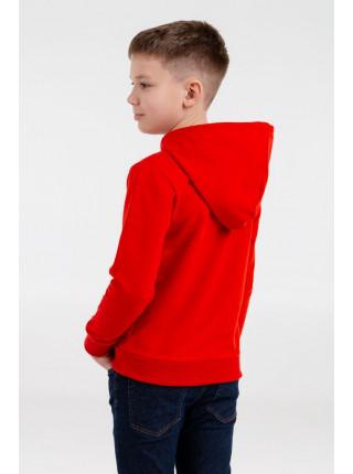Толстовка с капюшоном детская Kirenga Kids, красная
