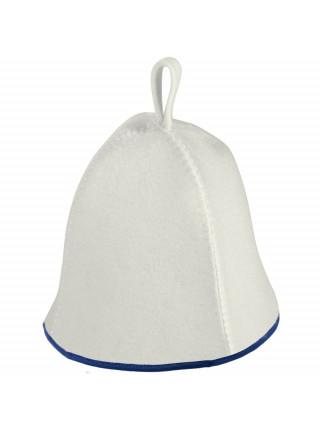 Банная шапка Heat Off Colour, с синей окантовкой