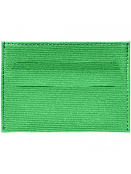 Чехол для карточек Twill, зеленый