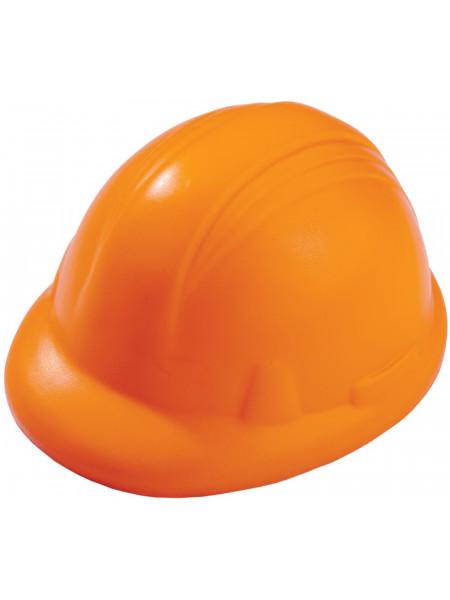 Антистресс «Каска», оранжевый