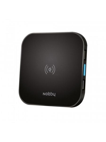 Беспроводное зарядное устройство Nobby Practic, черное