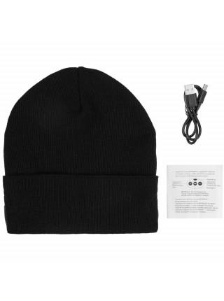 Шапка с Bluetooth наушниками Real Talk Headset, черная