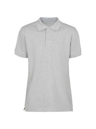 Рубашка поло мужская Virma Premium, серый меланж