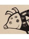 Игрушка «Свинка, витающая в облаках», белая