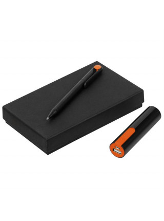 Набор Takeover Black, черно-оранжевый