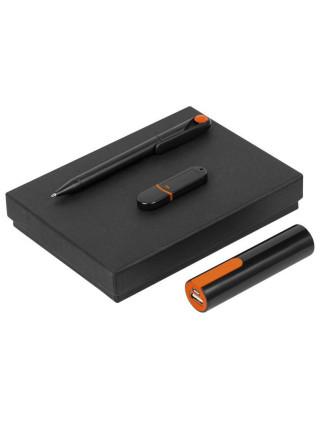 Набор Do It Black, черно-оранжевый