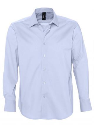 Рубашка мужская с длинным рукавом BRIGHTON, голубая