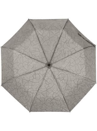 Складной зонт Tracery с проявляющимся рисунком, серый