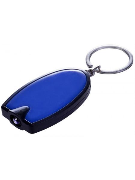 Брелок-фонарик Vivid, синий