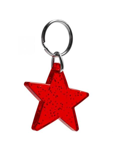 Брелок Star, красный