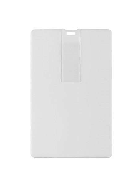 Флешка Card, 16 Гб, белая
