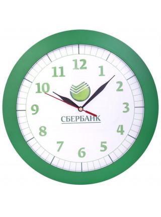 Часы настенные Vivid Large, зеленые