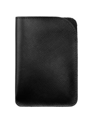 Чехол для паспорта Linen, черный