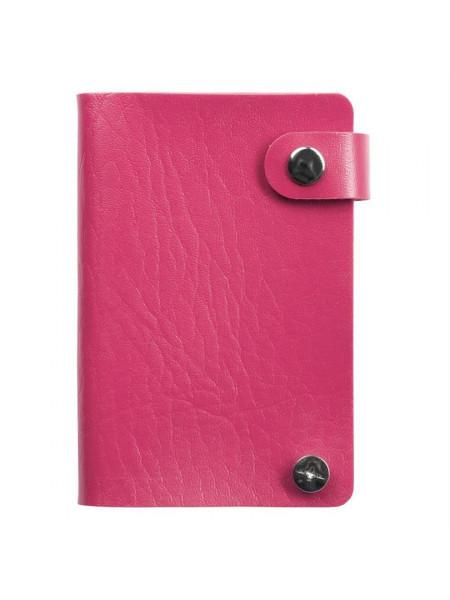 Футляр для пластиковых карт Young, розовый (фуксия)