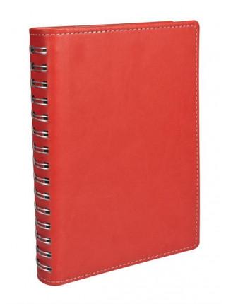 Ежедневник Semi, недатированный, красный