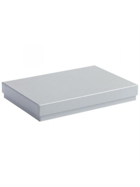 Коробка под ежедневник, серебро