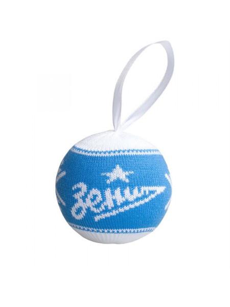 Шар новогодний «Зенит», голубой