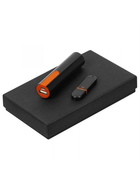Набор Equip Black, черно-оранжевый