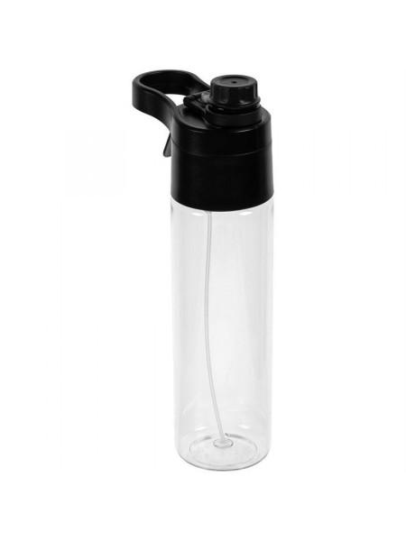 Бутылка для воды с пульверизатором Vaske Flaske, черная
