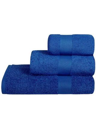 Полотенце махровое Soft Me Medium, синее