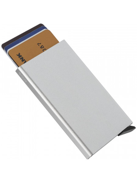 Футляр для кредитных карт Motion, серебро