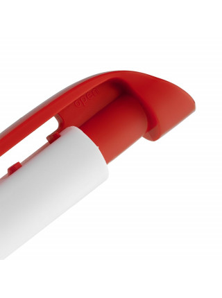 Ручка шариковая Favorite, белая с красным