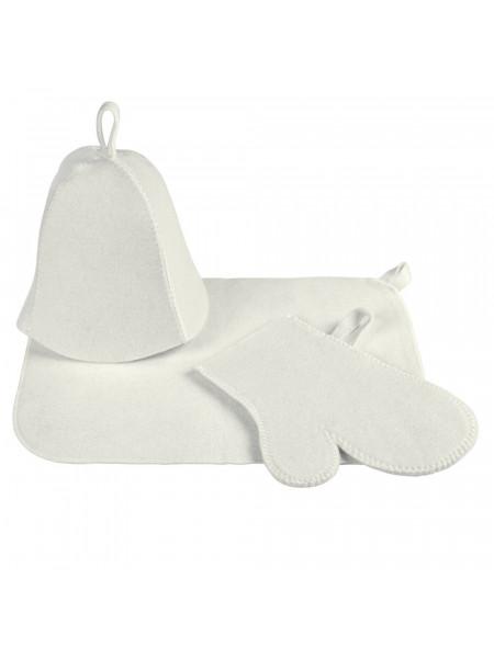 Набор для бани «Парилка», белый