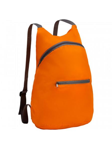 Складной рюкзак Barcelona, оранжевый