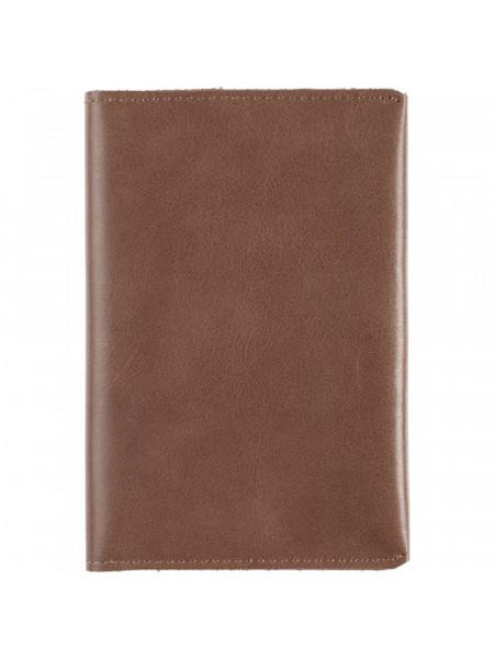 Обложка для паспорта Apache, коричневая (какао)