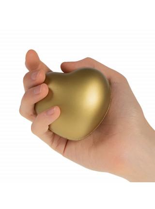 Антистресс «Сердце», золотистый ver.2