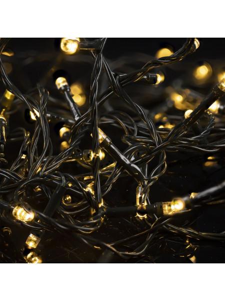 Гирлянда illumiNation Maxi, светодиодная, теплый свет