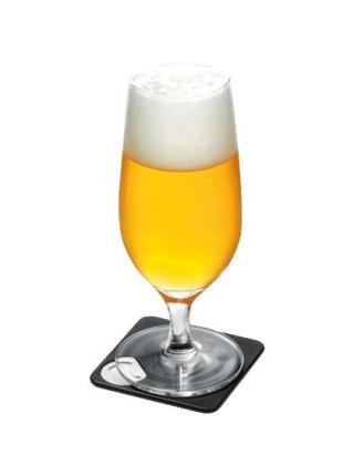Костер с открывашкой для бутылок Bartender, белый