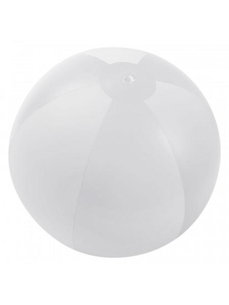 Надувной пляжный мяч Jumper, белый