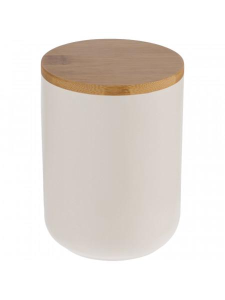 Банка для хранения Bambic с бамбуковой крышкой