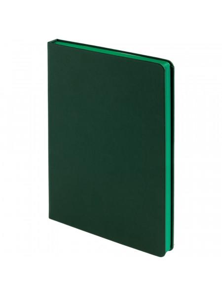 Ежедневник Shall, недатированный, зеленый