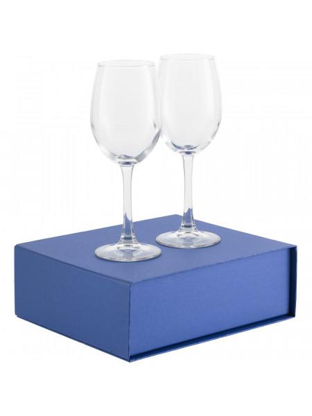 Набор бокалов для вина Wine House , синий