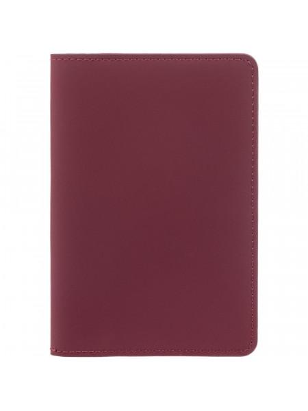 Обложка для паспорта Alaska, красная
