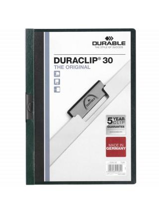 Папка Duraclip Original, зеленая