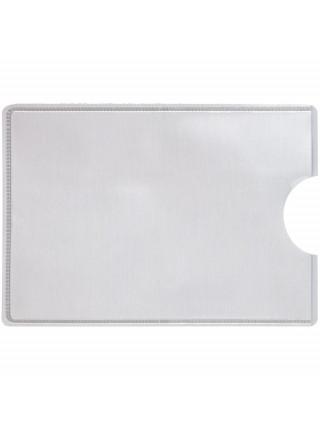 Футляр для кредитной карты Durable RFID, серебристый