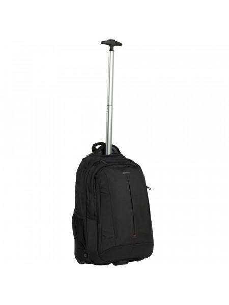 Рюкзак на колесах GuardIT 2.0, черный