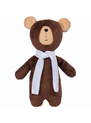 Игрушка Beastie Toys, мишка с белым шарфом