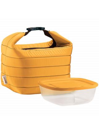 Набор Handy: термосумка и контейнер, малый, желтый