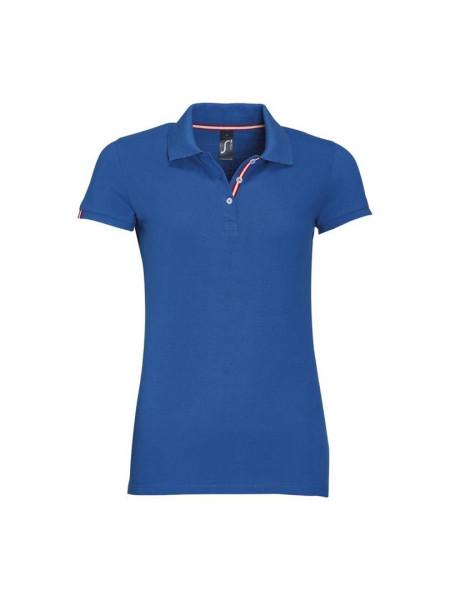 Рубашка поло PATRIOT WOMEN, ярко-синяя